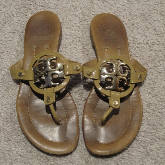 022872c3d Tory Burch Miller 2 Sandals Royal Tan Size 7. M 5a5390909d20f0445e009da7